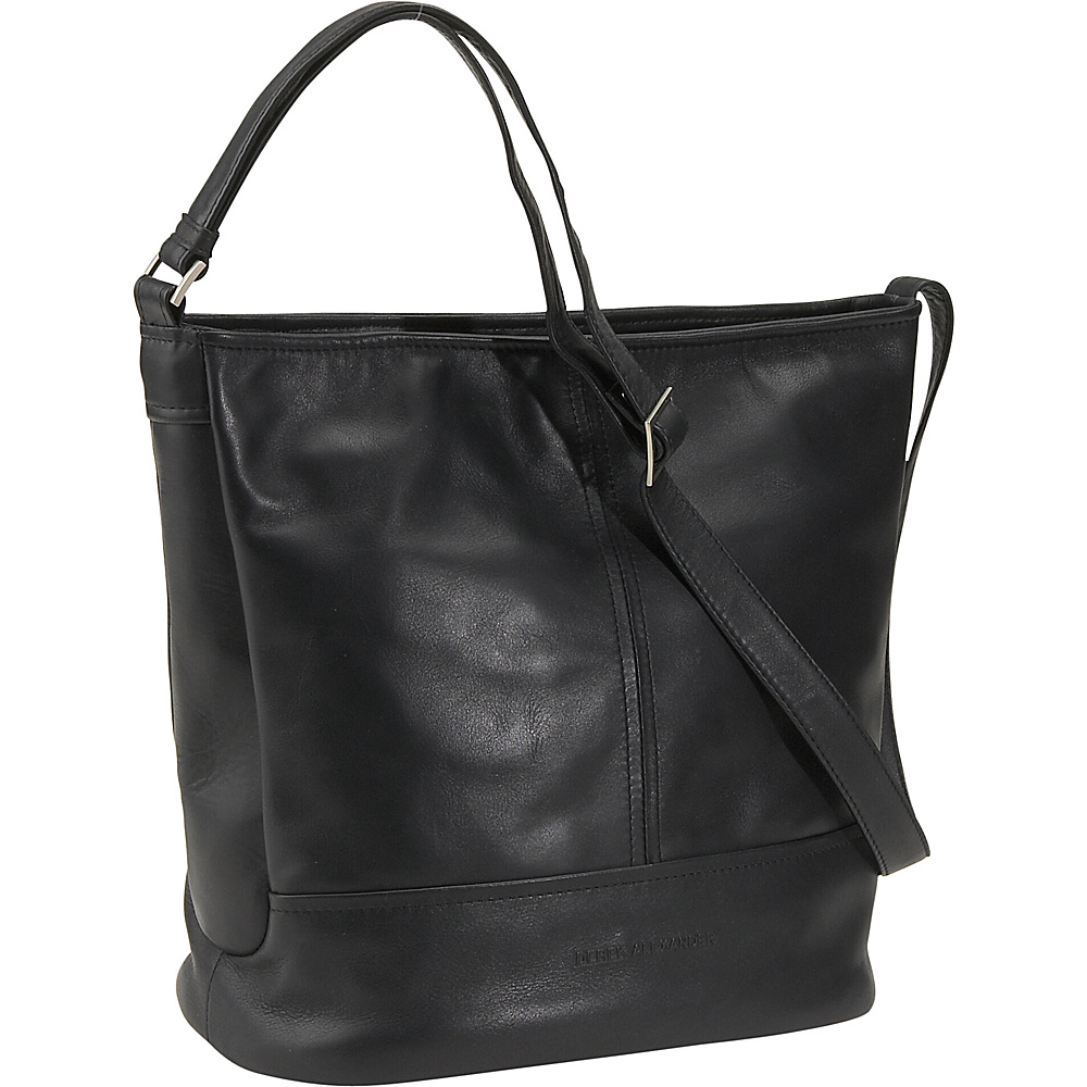 Derek Alexander North/South Double Compartment Bucket - Handbags, Leather Handbags