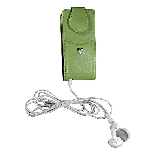 Fortte iPod Nano Flip Style Leather PDA Case (Swivel