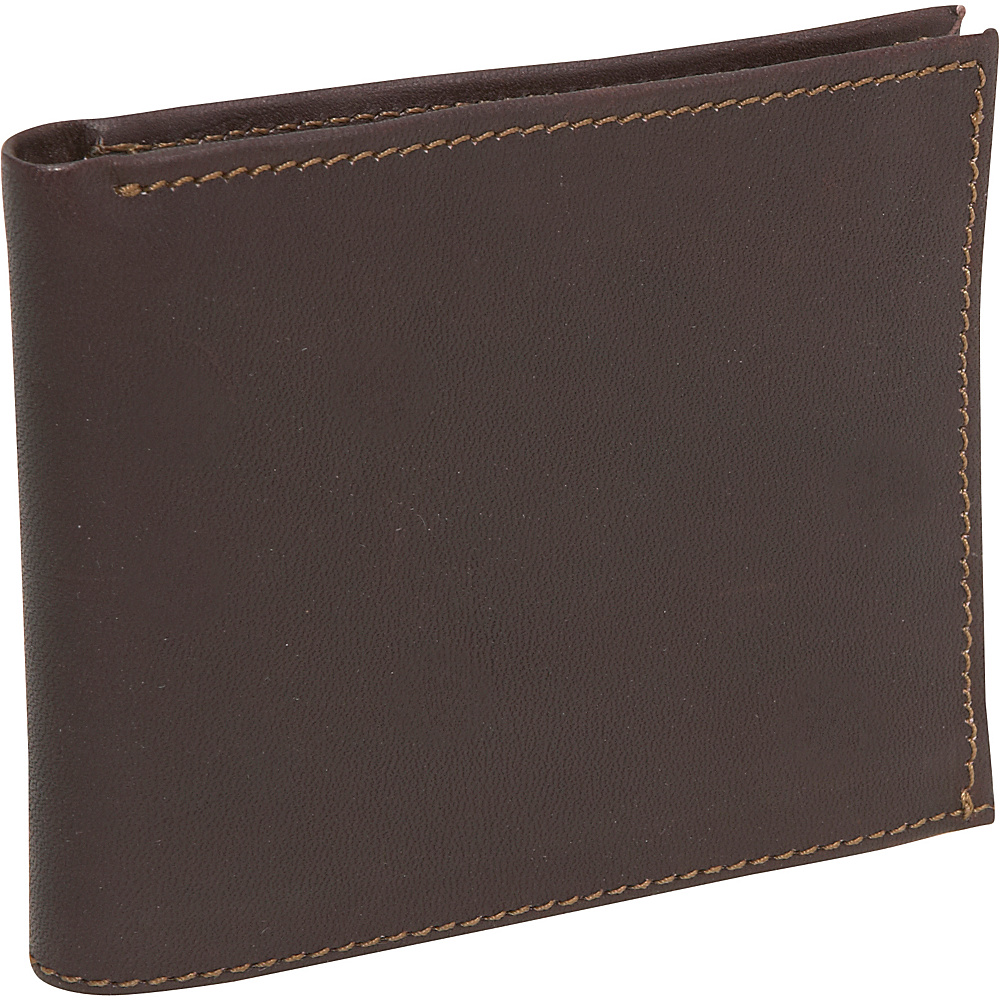 Piel Bi-Fold Wallet - Chocolate - Work Bags & Briefcases, Men's Wallets
