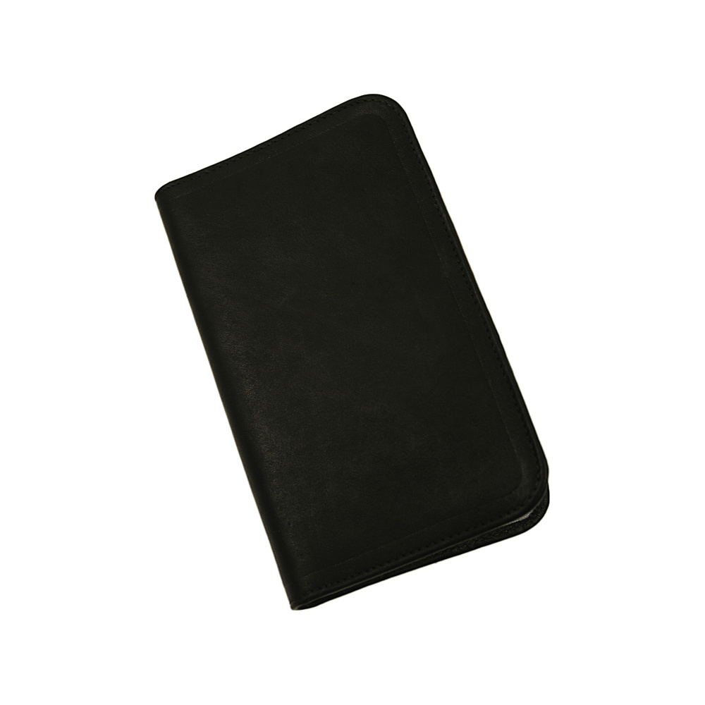 Piel Mini Notepad Holder - Black - Work Bags & Briefcases, Business Accessories
