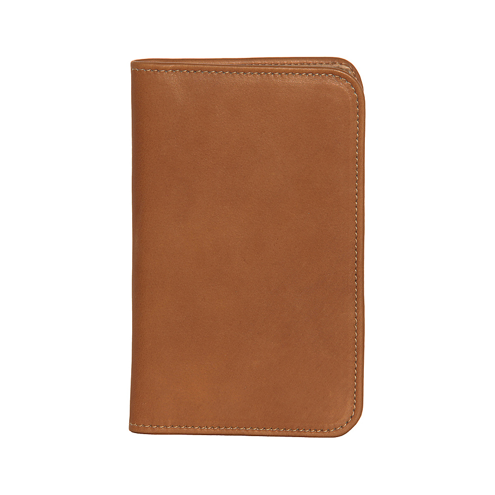 Piel Mini Notepad Holder - Saddle - Work Bags & Briefcases, Business Accessories