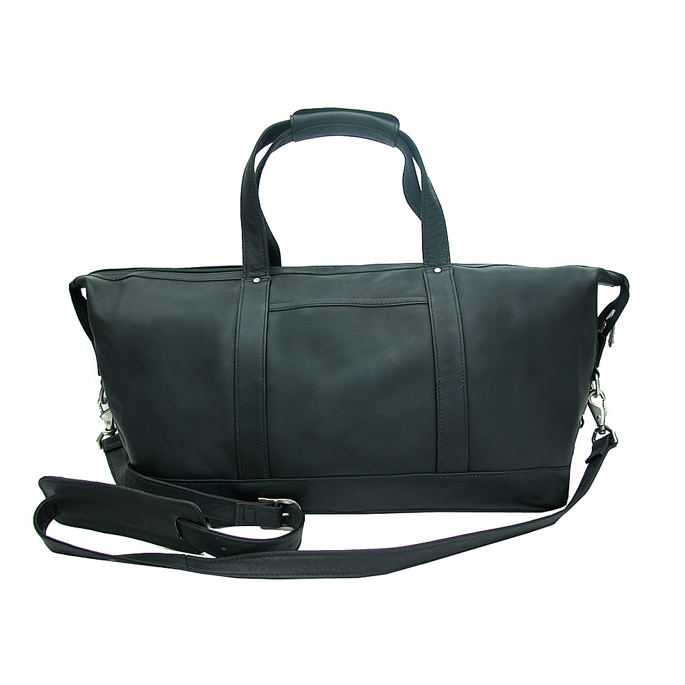 Piel Medium Carry-On Satchel - Black - Luggage, Rolling Duffels
