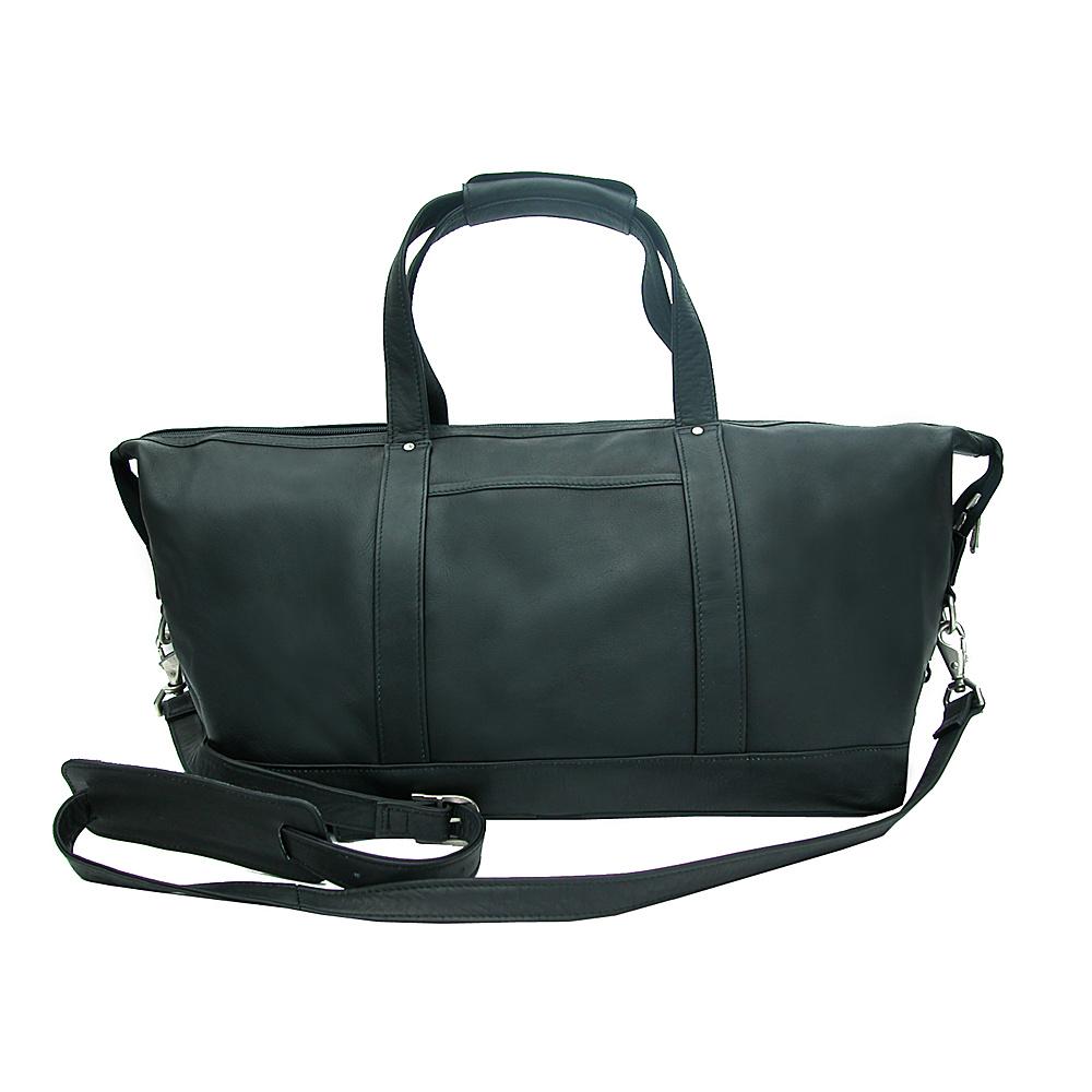 Piel Medium Carry-On Satchel - Black - Luggage, Rolling Duffels