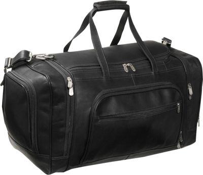 piel multi compartment duffle bag ebags