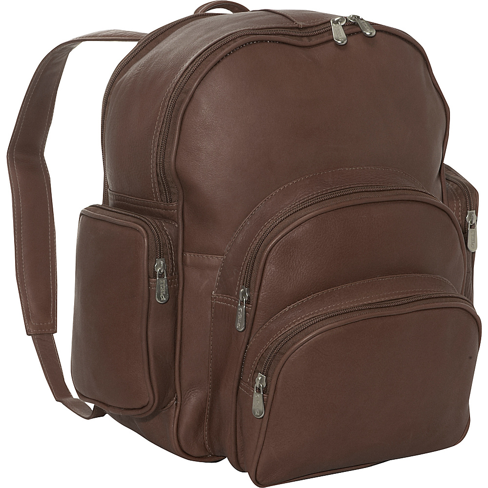 Piel Expandable Backpack - Chocolate