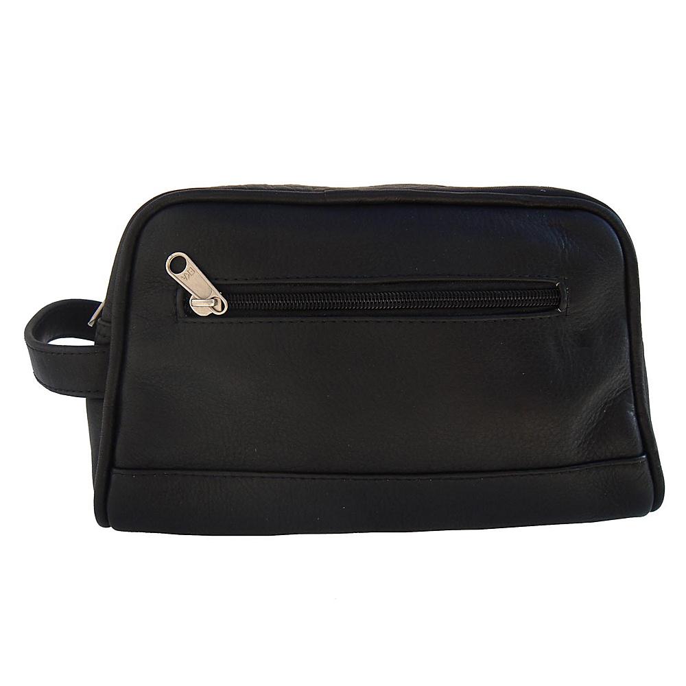Piel Top-Zip Toiletry Kit - Black - Travel Accessories, Toiletry Kits