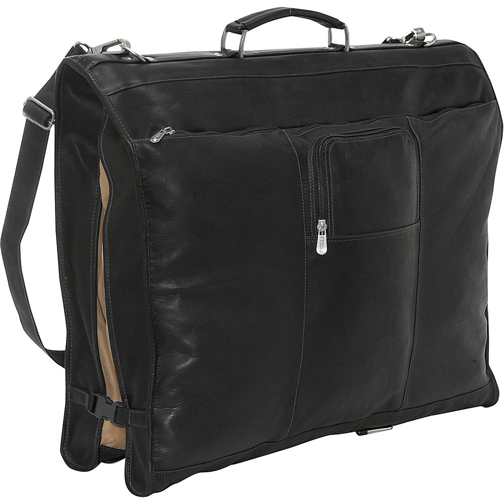 Piel 40 Elite Garment Carrier - Black - Luggage, Garment Bags