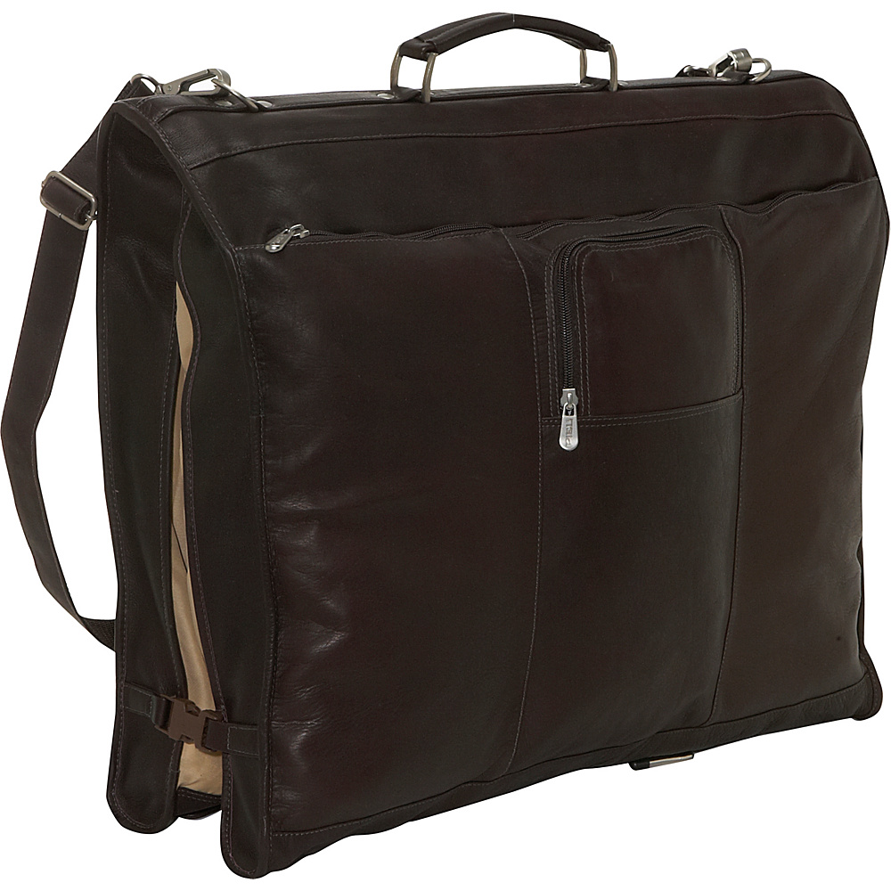 Piel 40 Elite Garment Carrier - Chocolate - Luggage, Garment Bags