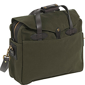 Large Briefcase/Computer Case Otter Green