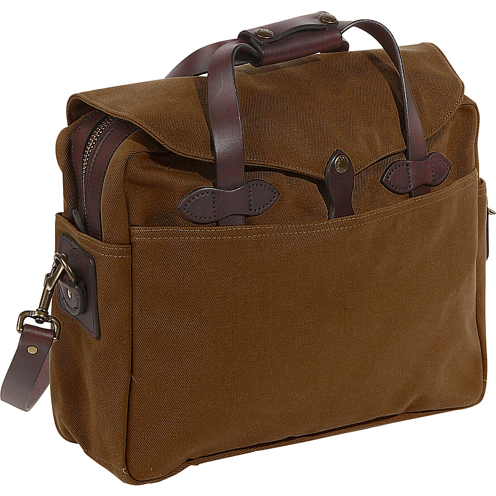 Filson Large Briefcase/Computer Case - BROWN