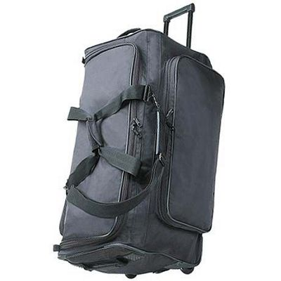 "Netpack Big P"" 25"" Wheeled Duffel - Black"