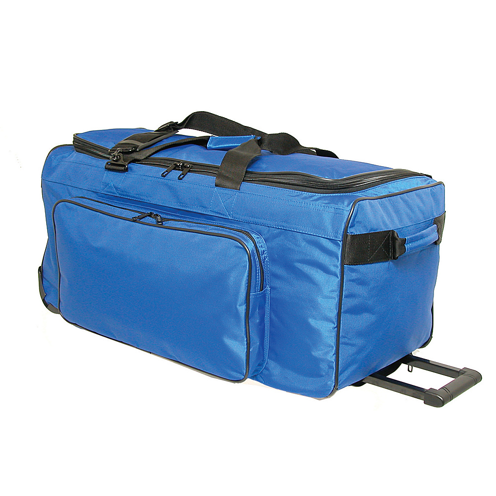 Netpack Big P 25 Wheeled Duffel - Blue - Luggage, Rolling Duffels