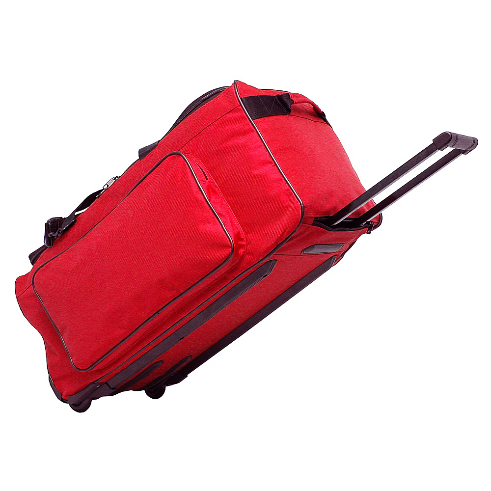 Netpack Big P 25 Wheeled Duffel - Red - Luggage, Rolling Duffels