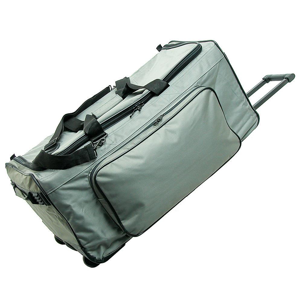 Netpack Big P 25 Wheeled Duffel - Grey - Luggage, Rolling Duffels