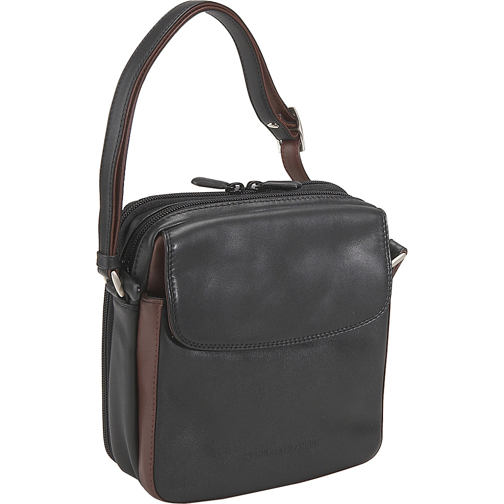 Derek Alexander North/South Top Zip with Rear Organizer - Handbags, Leather Handbags