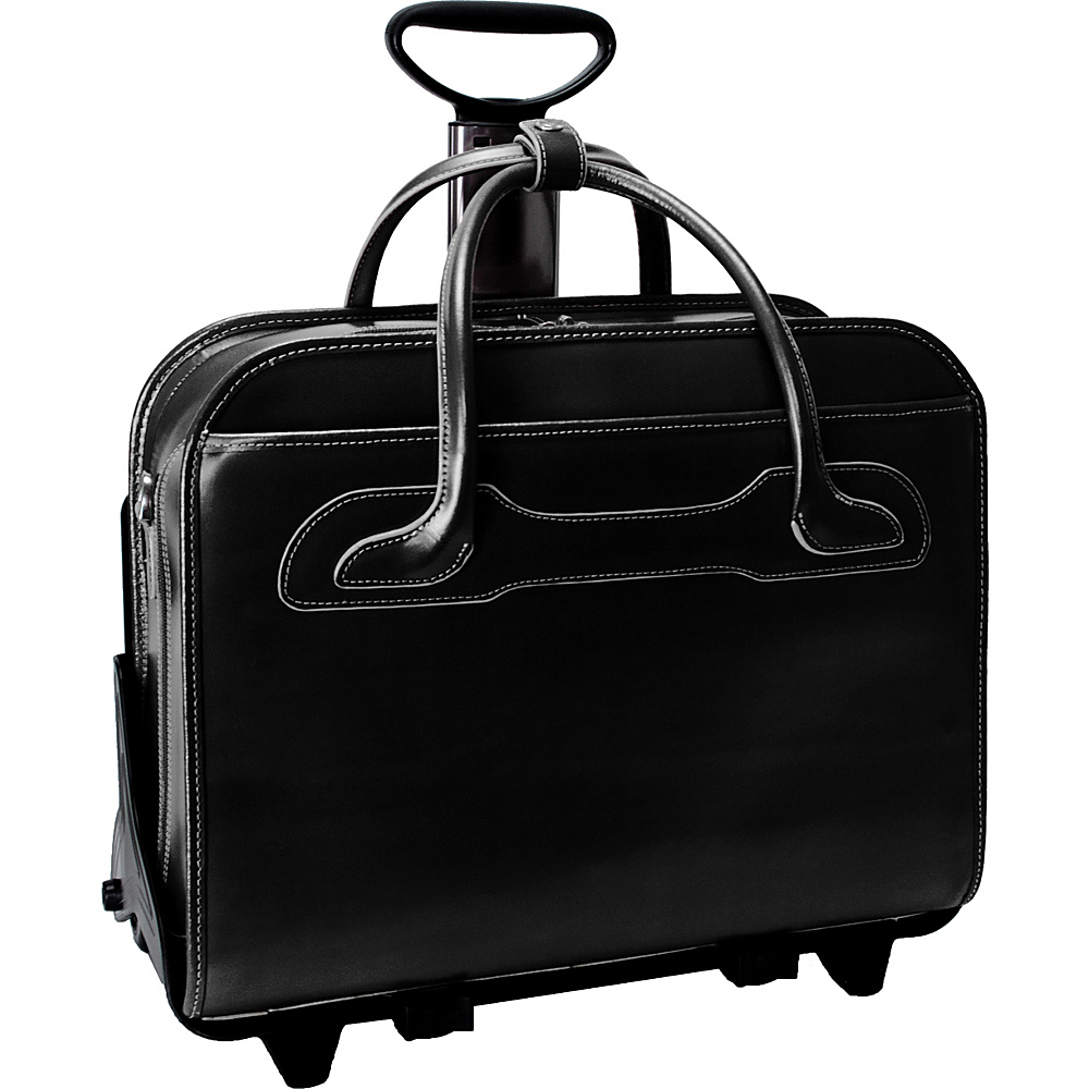 McKlein USA W Series Willowbrook Leather Detachable - Work Bags & Briefcases, Wheeled Business Cases