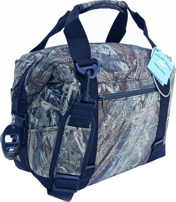 Polar Bear Coolers 12 Pack Soft Side Cooler - Mossy Oak Shadow Grass Mossy Oak Shadow Grass - Polar Bear Coolers Outdoor Coolers