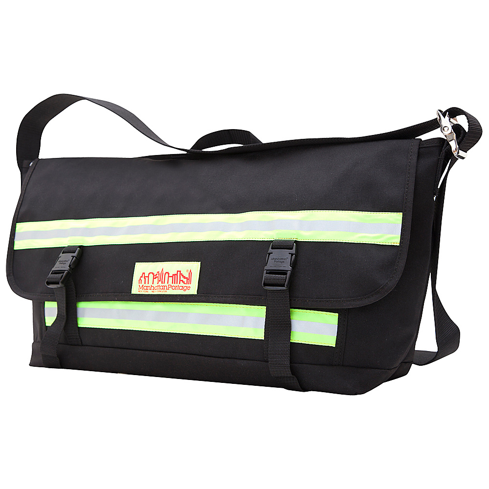 Manhattan Portage Reflective Bike Messenger Bag- Large - Work Bags & Briefcases, Messenger Bags