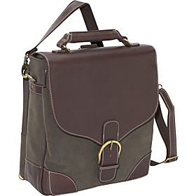 The Advisor Laptop Messenger Brown