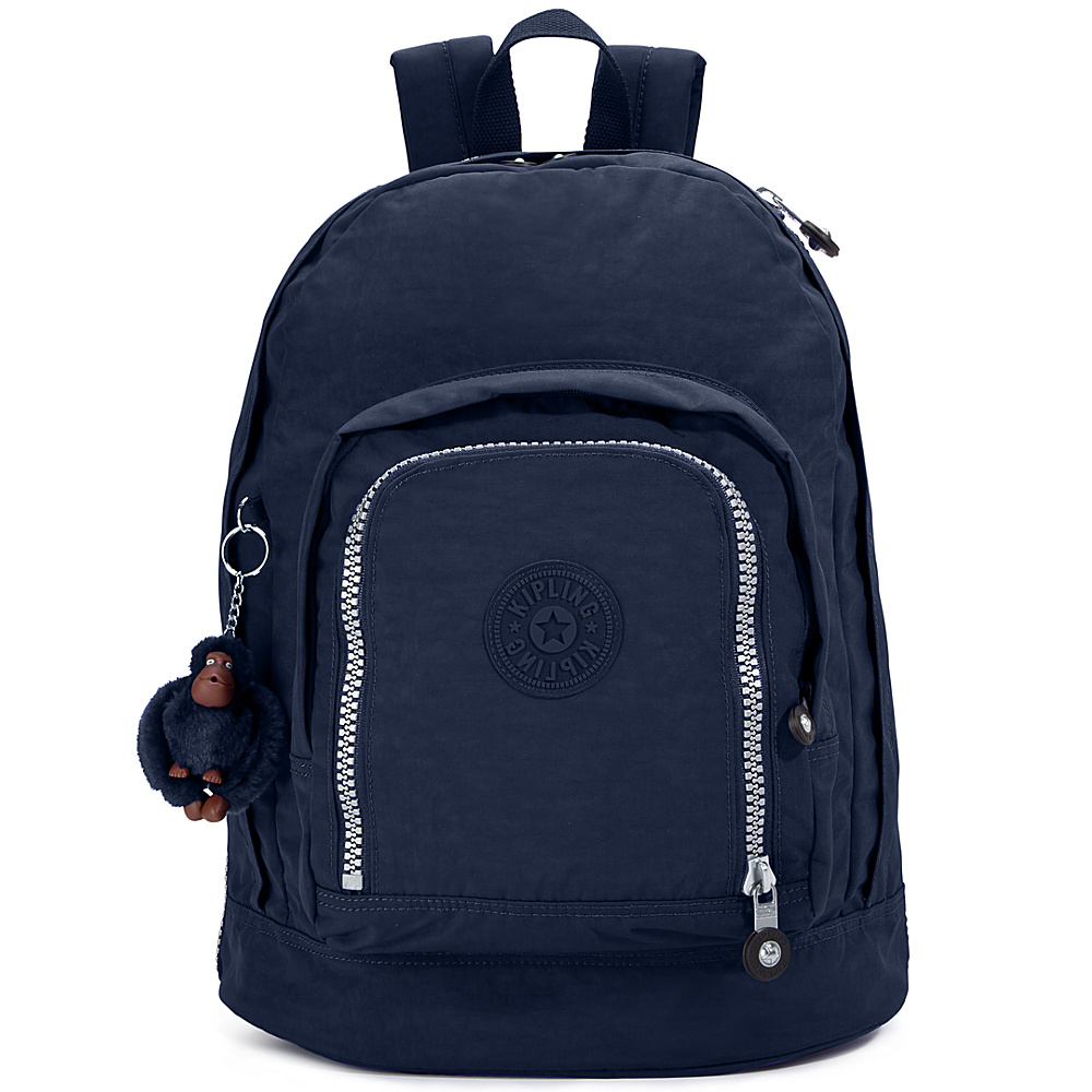 Kipling Hiker Expandable Backpack - True Blue - Backpacks, School & Day Hiking Backpacks