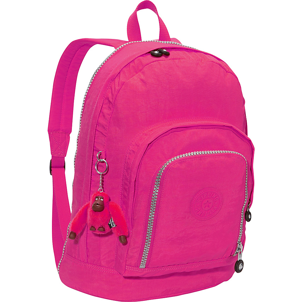 Kipling Hal Expandable Backpack Very Berry - Kipling School & Day Hiking Backpacks