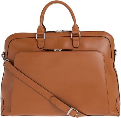 Lodis Audrey Brera Brief with Computer Compartment Toffee - Lodis Non-Wheeled Business Cases