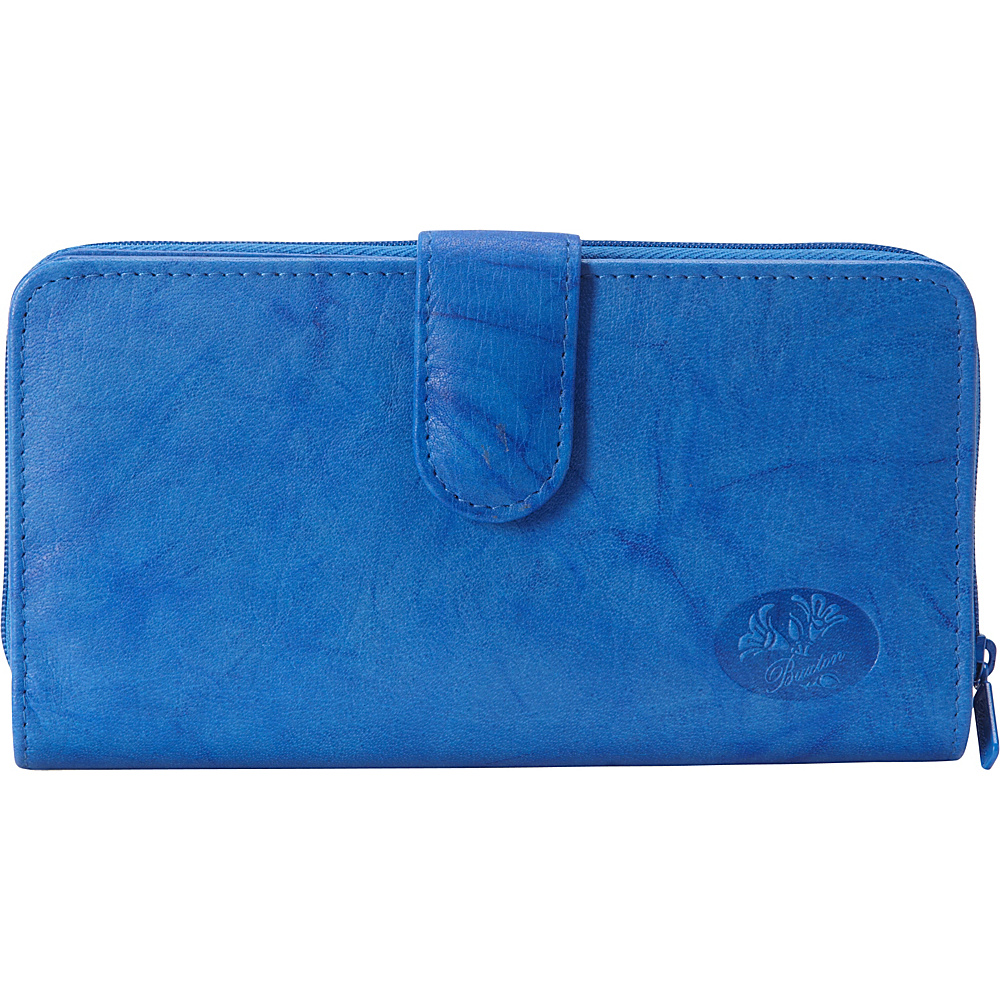 Buxton Heiress Ensemble Clutch Strong Blue - Buxton Womens Wallets - Women's SLG, Women's Wallets
