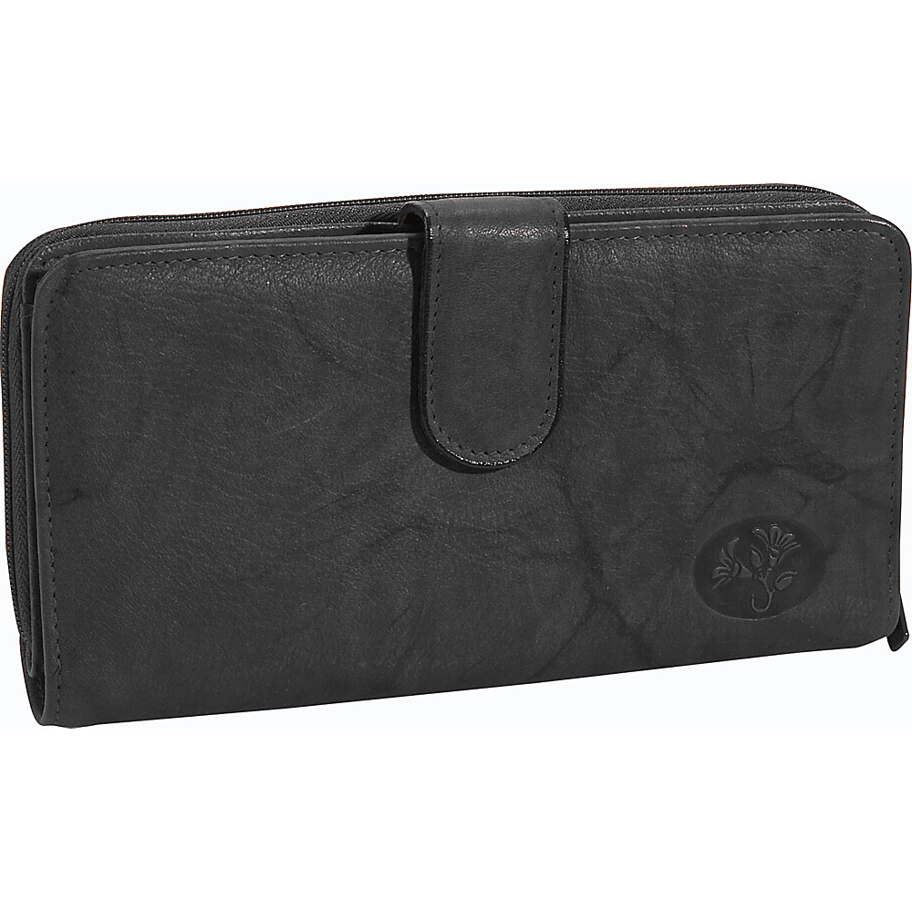 Buxton Heiress Ensemble Clutch Black - Buxton Womens Wallets - Women's SLG, Women's Wallets