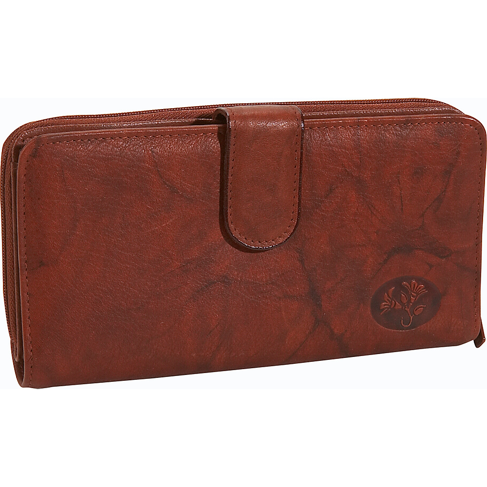 Buxton Heiress Ensemble Clutch - Mahogany - Women's SLG, Women's Wallets