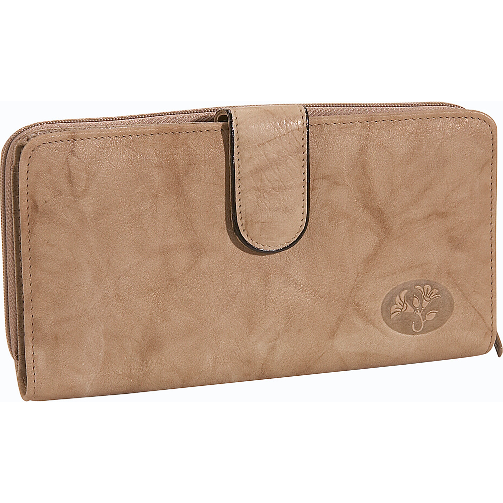 Buxton Heiress Ensemble Clutch - Taupe - Women's SLG, Women's Wallets