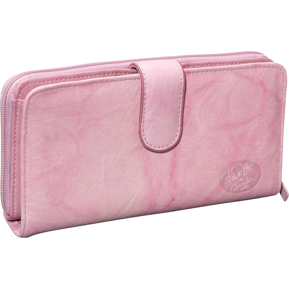 Buxton Heiress Ensemble Clutch Pink - Buxton Womens Wallets - Women's SLG, Women's Wallets