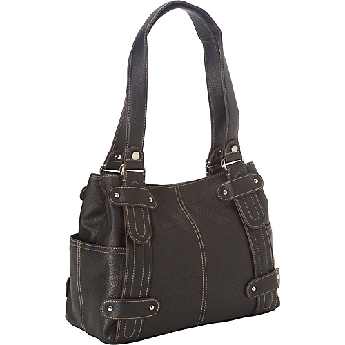 Tignanello Perfect 10 Studded Shopper - Black