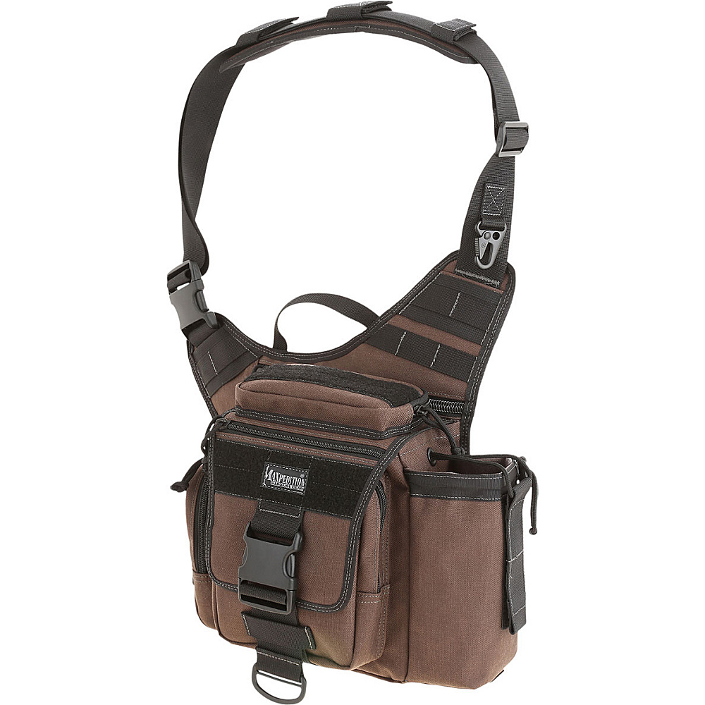 Maxpedition JUMBO S TYPE VERSIPACK Dark Brown Maxpedition Tactical