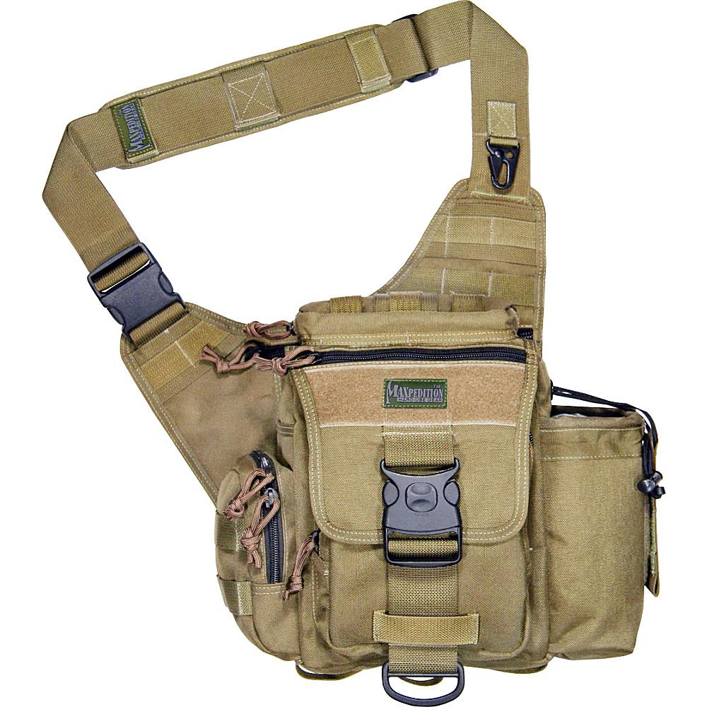 Maxpedition JUMBO S-TYPE VERSIPACK - Khaki - Outdoor, Tactical
