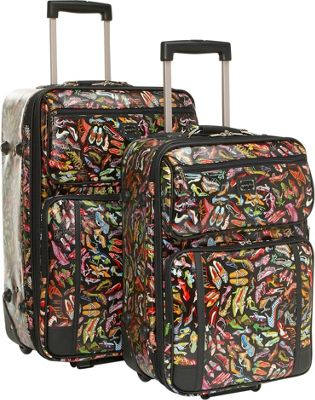 Sydney Love Sydney Love Stepping Out 2 Piece Luggage Set - Shoes