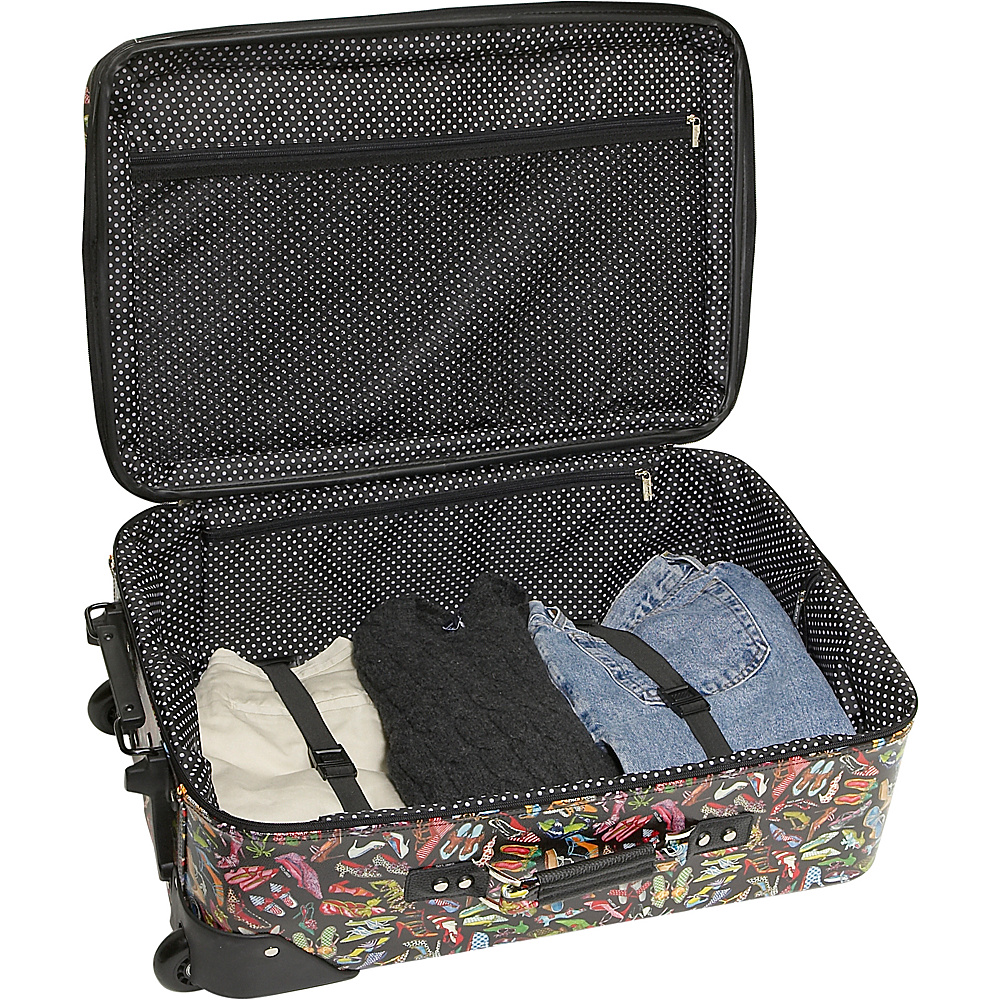 Sydney Love Stepping Out 2 Piece Luggage Set - Shoes