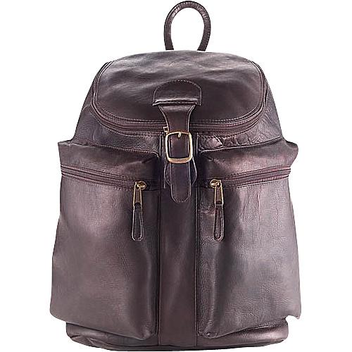 Clava Zip-Top Backpack - Vachetta Cafe