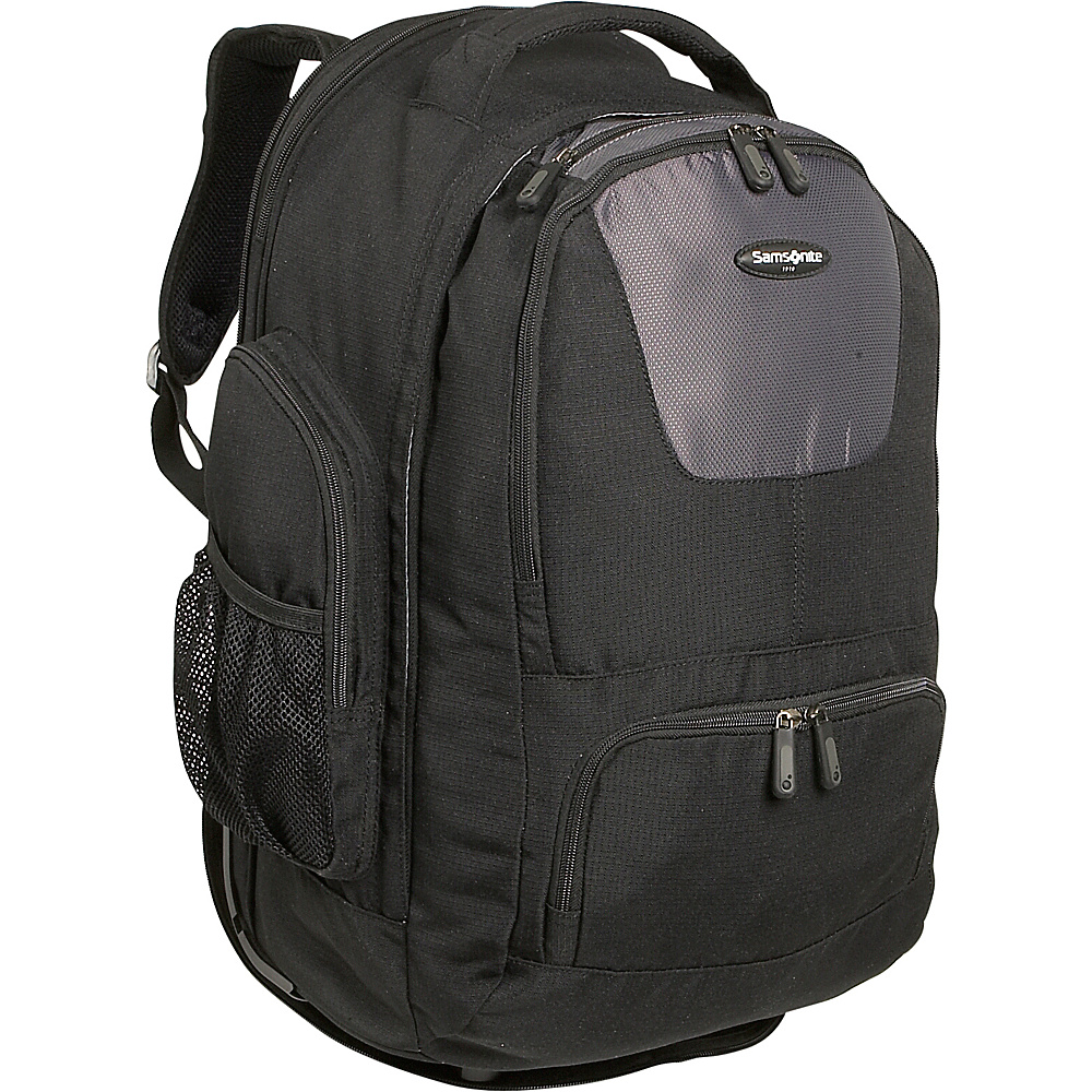 Samsonite Wheeled Backpack - Large - Black/Charcoal - Backpacks, Rolling Backpacks