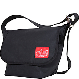 Vintage Canvas Messenger Bag Black