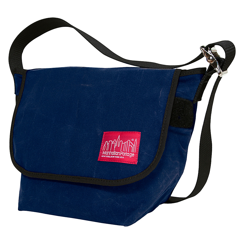 Manhattan Portage Vintage Canvas Messenger Bag Navy - Manhattan Portage Messenger Bags - Work Bags & Briefcases, Messenger Bags