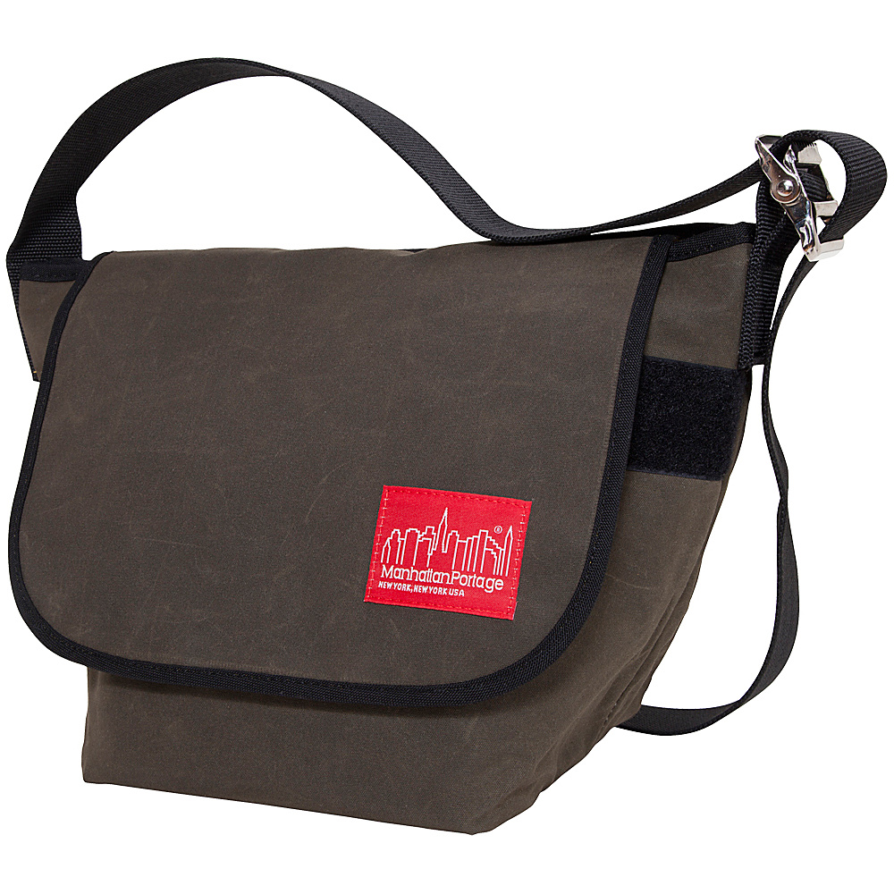 Manhattan Portage Vintage Canvas Messenger Bag - Olive - Work Bags & Briefcases, Messenger Bags