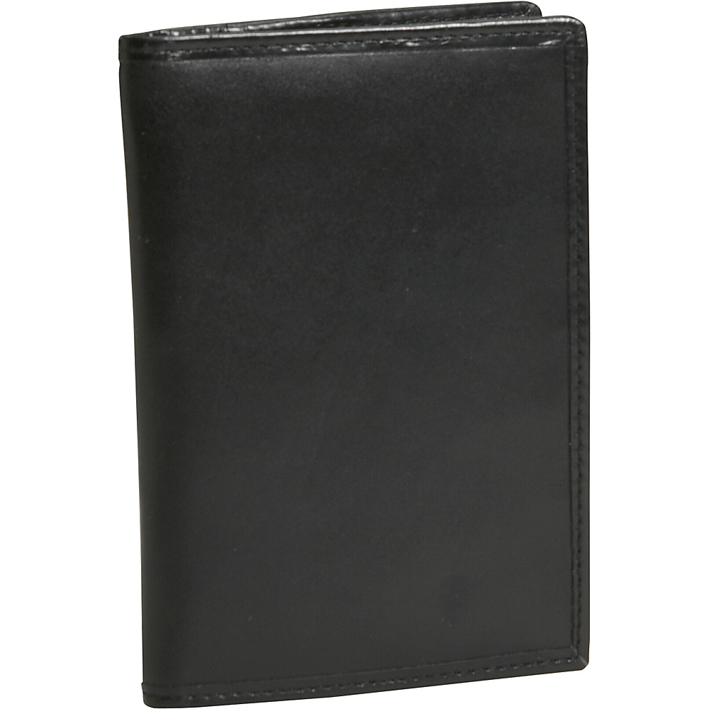 Travelon RFID Blocking Leather Passport Case - Black - Travel Accessories, Travel Wallets