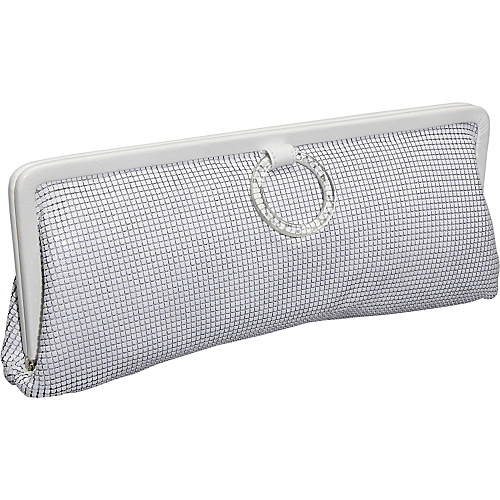 Whiting and Davis Mesh & Lucite Elongated Clutch