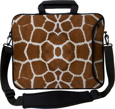 "Designer Sleeves 14"""" Executive Laptop Sleeve - Giraffe"" 10167602"