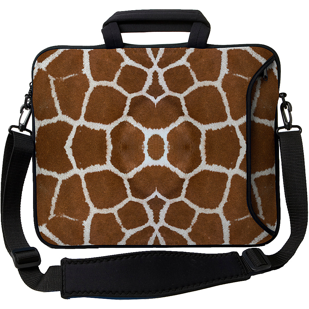 Designer Sleeves 14 Executive Laptop Sleeve - Giraffe - Technology, Electronic Cases