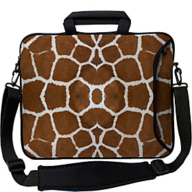 14'' Executive Laptop Sleeve Giraffe