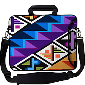 14'' Executive Laptop Sleeve Tropical Textile