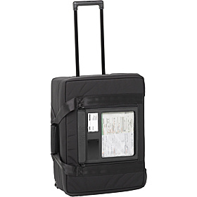 Air Case Large Multi Purpose Rolling Attache Black