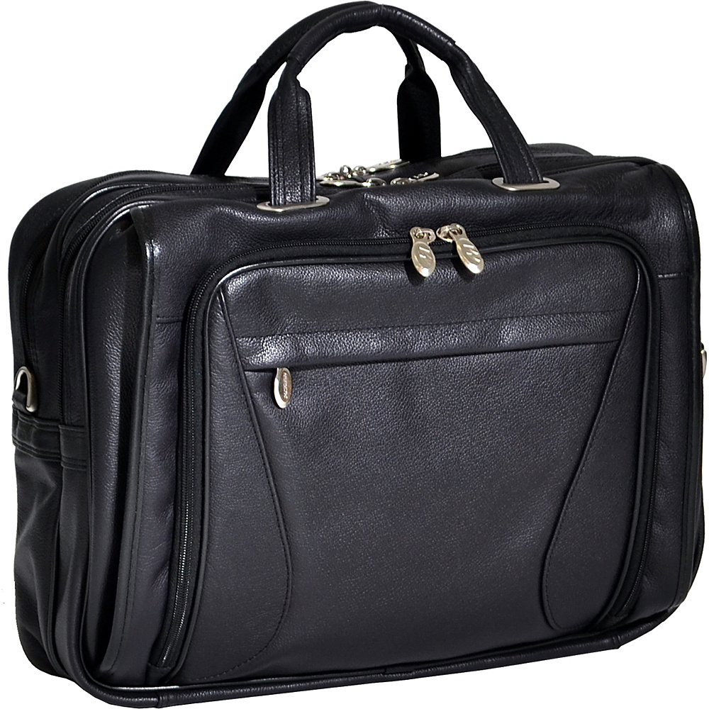 McKlein USA Irving Park 15.4 Laptop Case - Black - Work Bags & Briefcases, Non-Wheeled Business Cases