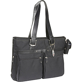 "ECO Friendly Laptop Tote - 16""PC / 17"" MacBook Pro Black"